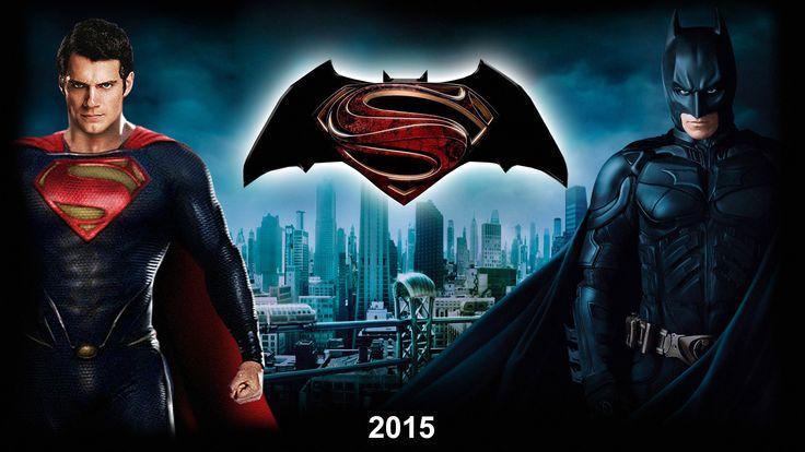batman vs super man movie logo, images | Superman vs Batman Wallpaper by LoganChico