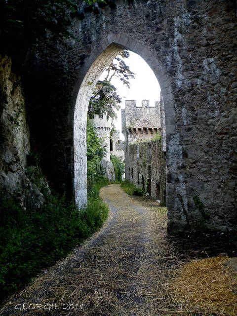 Gwrych Castle, Abergele, North Wales. http://en.wikipedia.org/wiki/Gwrych_Castle