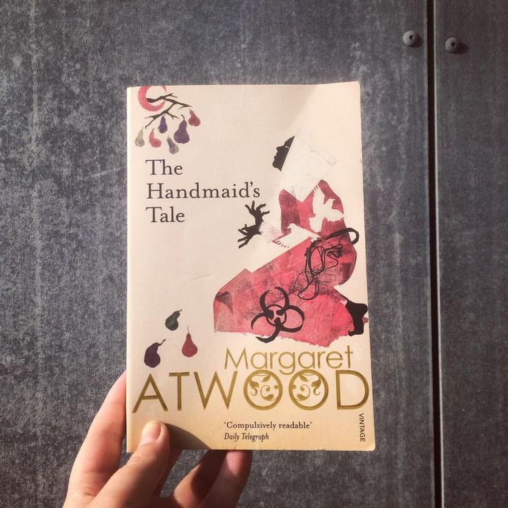 4/40: A Man Booker Prize shortlisted book: Margaret Atwood's The Handmaid's Tale. I love this book. It is well written and thought provoking and beautiful and depressing and amazing.