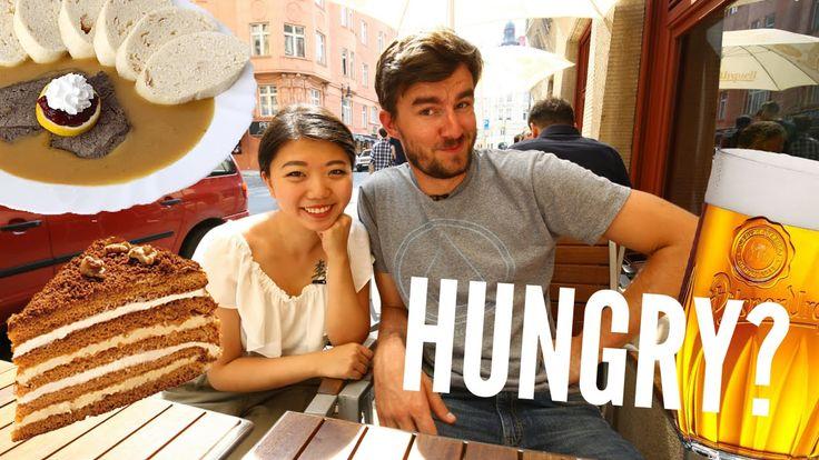 Digital Nomad TJ's vlog about Prague Food