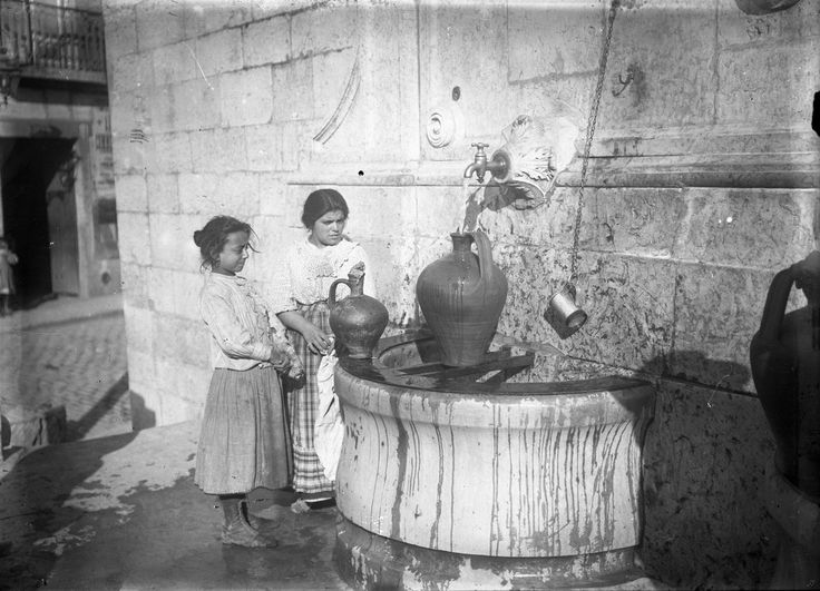 Lisboa, Chafariz do Rato, 1907 (public fountain)