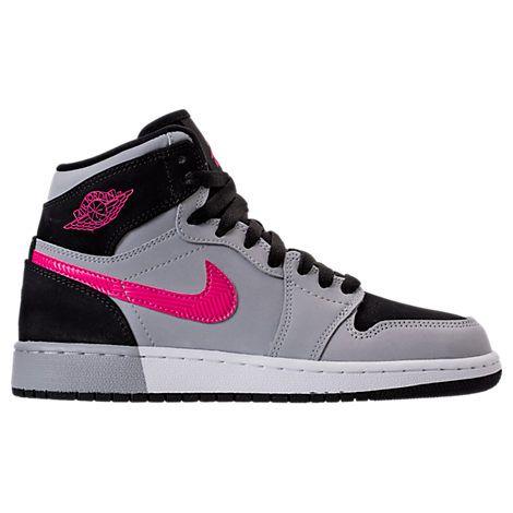 Girls' Grade School Air Jordan Retro 1 High (3.5y-9.5y) Basketball Shoes