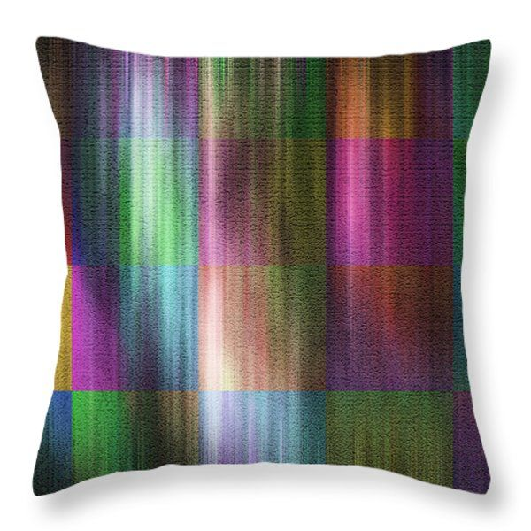 Throw Pillows - Square Visual Throw Pillow by Kathleen Wong