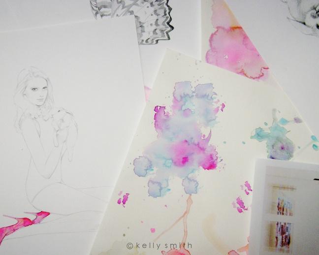 Kelly Smith: Illustrations Inspiration, Drawings Diy, Fashion Illustrations