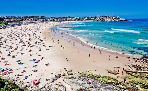 Bondi Beach, NSW Australia  One of the most popular beaches in Australia, Bondi is highly rip-prone, despite its famous lifeguards. The date of 6 Feb, 1938 is forever known as 'Black Sunday' after 250 people required rescue after an unsuspecting wave crashed onto the beach and drowned five people.