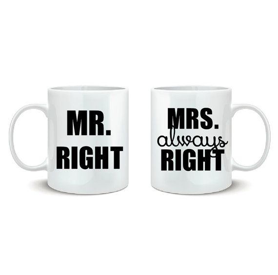 Couples Coffee Cups DECALS Couples Coffee Mugs by KatelynPridgen