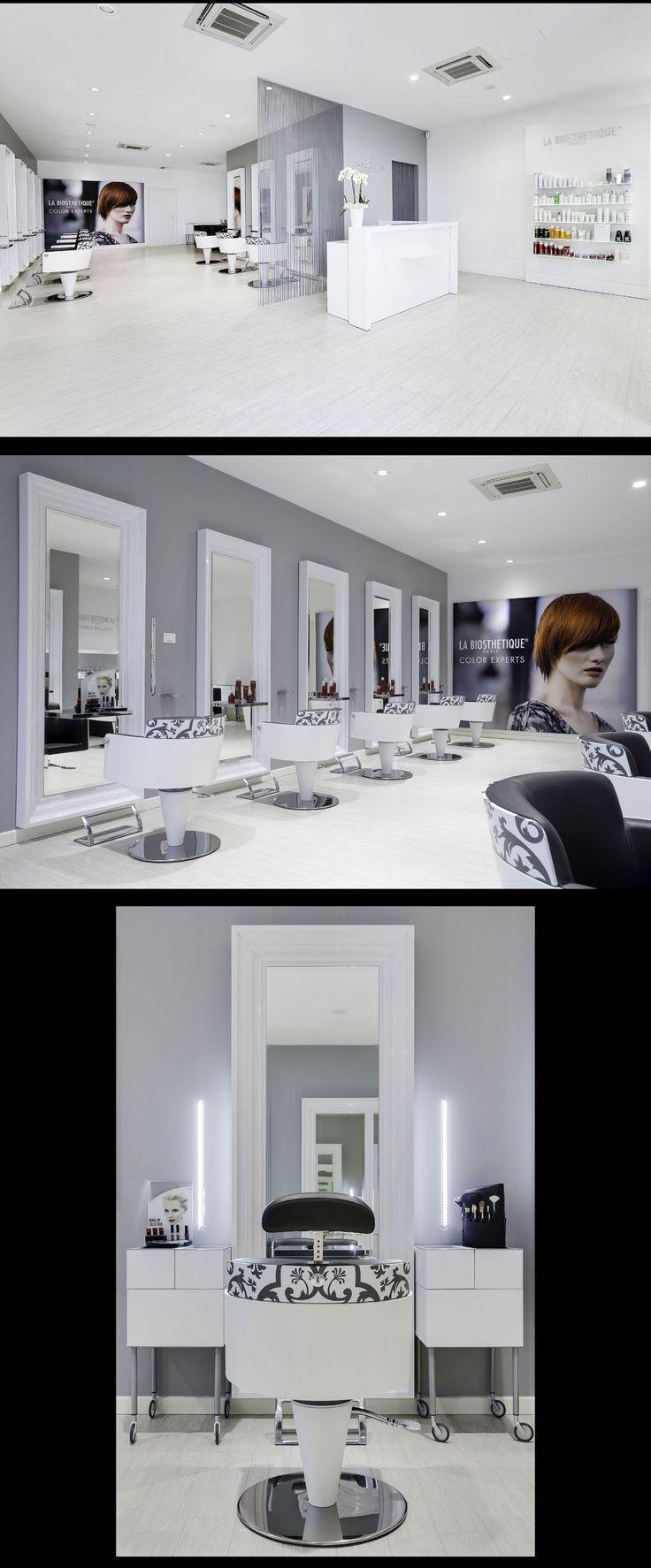 Hair Salon Capolavoro - Mantova (Italy) - Salon Design by Mauro Cimarosti - #SalonTrends