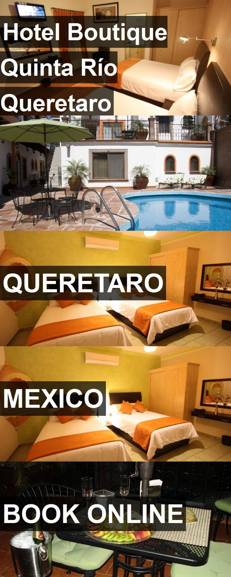 Hotel Hotel Boutique Quinta Río Queretaro in Queretaro, Mexico. For more information, photos, reviews and best prices please follow the link. #Mexico #Queretaro #HotelBoutiqueQuintaRíoQueretaro #hotel #travel #vacation