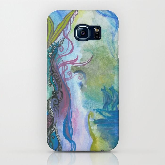 Magical seaweed iPhone & iPod Case