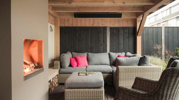 1000 ideas about verandas on pinterest veranda ideas cozy homes and outdoor candles - Deco moderne open haard ...