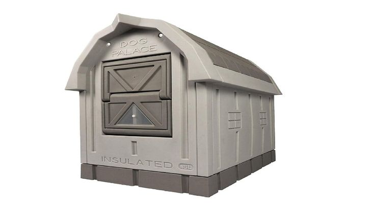 Insulated dog houses on pinterest dog houses dog house plans and
