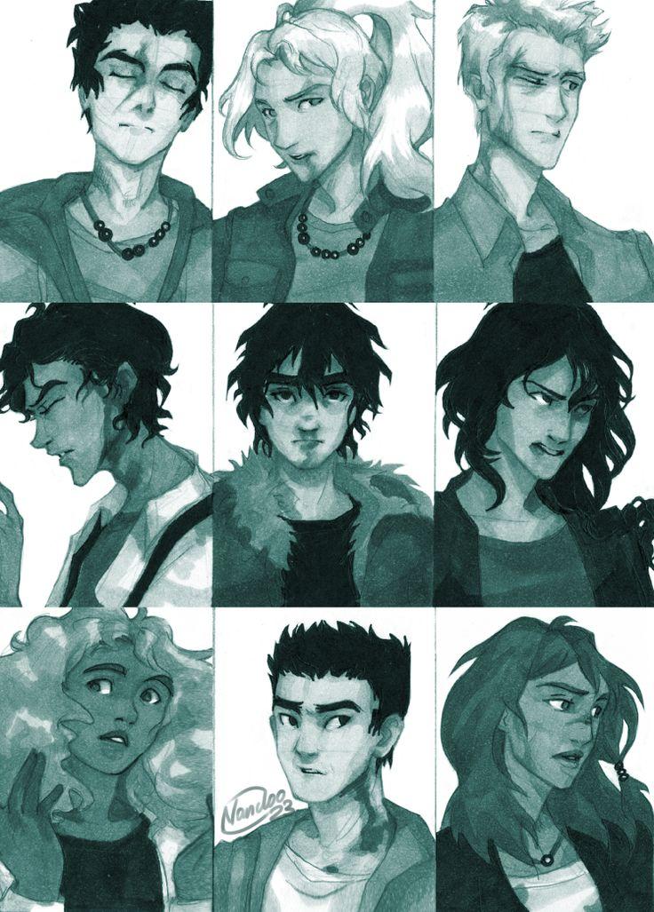 картинки перси джексон персонажи