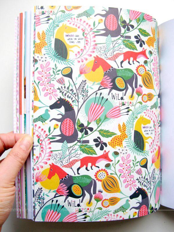 Helen Dardik - Flow, Book for paper lovers + a giveaway / all images © emma lamb | emmallamb.blogspot.com