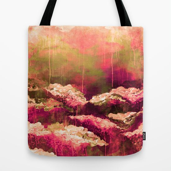 """""""It's a Rose Colored Life 2"""" by Ebi Emporium on @society6 Canvas Art Tote Bag, Floral Flowers Garden Nature Modern Fashion Accessories Colorful Fine Art Abstract Fall Painting Olive Green White Fuchsia Magenta Burgundy Red Drip Brushstrokes Fashion #autumn #colorful #abstract #fineart #art #painting #boldcolors #fall #totebag #canvastote #canvasbag #bag #tote #fallfashion #shoulderbag #carryall #EbiEmporium #Society6 #bookbag"""