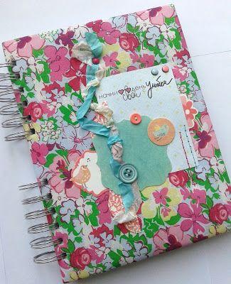 Волшебный мир ручной работы от Glenna: Дневник скрапера