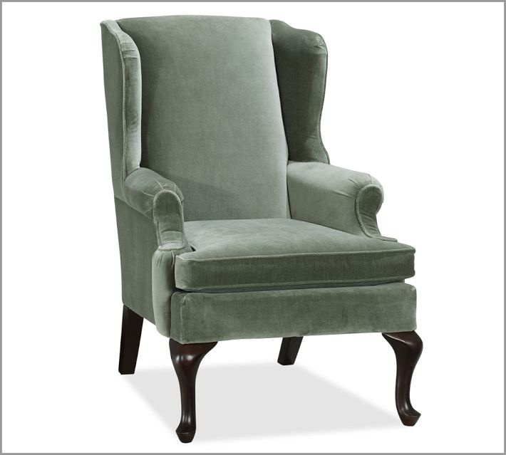 Wingback Recliners Chairs Living Room Furniture Pair Of Antique Living Room Wing Arm Chairs At