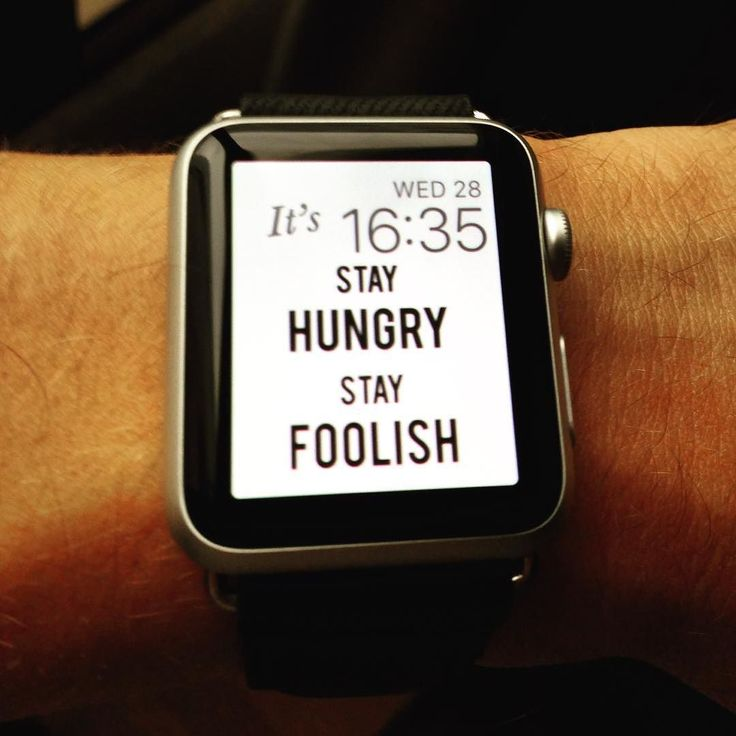 Stay Hungry stay foolish Apple Watch Custom face. Check website in bio to download.  #applewatch #applewatchface #applewatchcustomface #applewatchcustomfaces #wallpaper #applewatchhwallpaper #watchface #watchos2 #watchos #apple #applestore #stevejobs #sjobs #foolish #hungry #quote #stayhungrystayfoolish