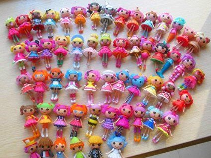 Lalaloopsy Collection.Get your 8 Mini Lalaloopsy Doll collection and Limited edition from the Lalaloopsy Super Silly Party Collection. Lalaloopsy Collection