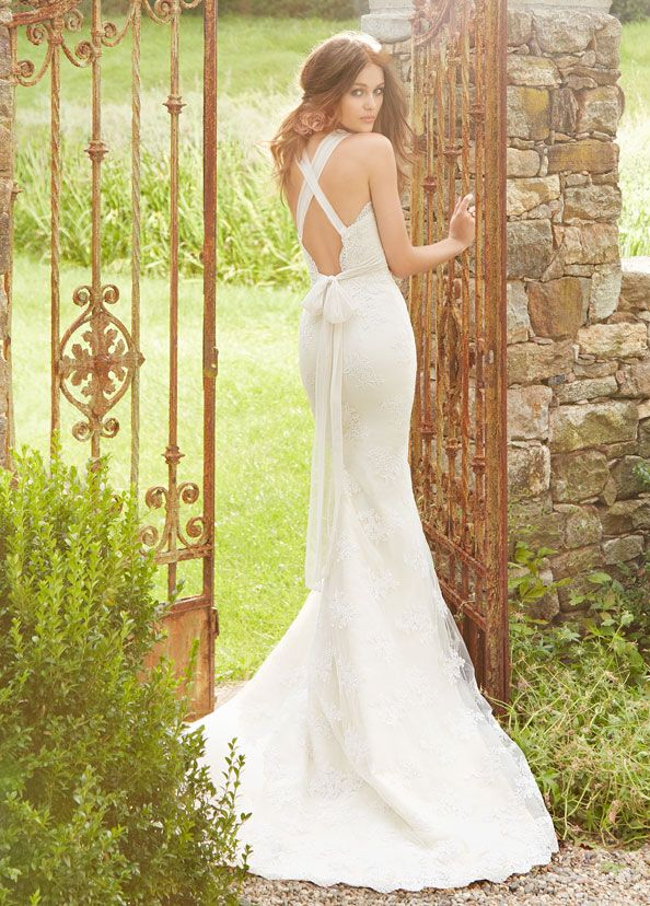 Love the back! Bridal Gowns, Wedding Dresses by Blush - Style 1351