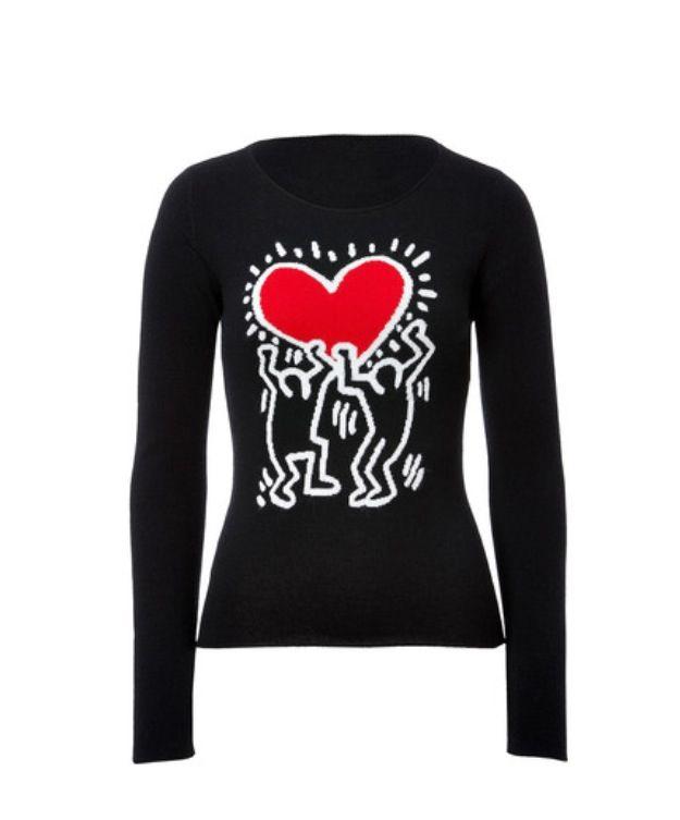 Keith Haring Clothing Shirt - Crazy Art Teacher Fashion