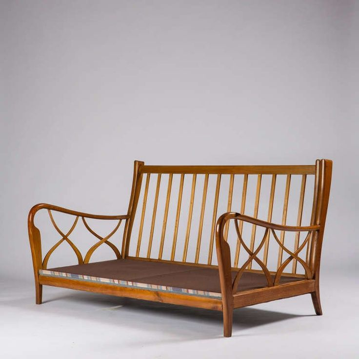 Two Seats Sofa Attributed To Paolo Buffa