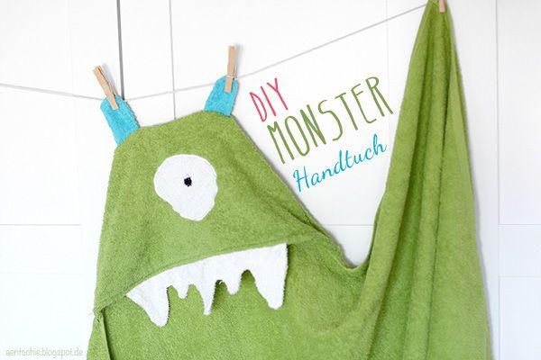 aentschies Blog: DIY Monster-Handtuch & DaWanda LoveMag