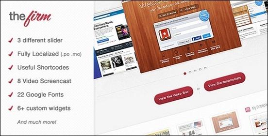 The Firm – Corporate WordPress Theme