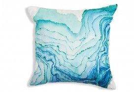 Absolutely adore this watermark pillow, would look amazing on my bed