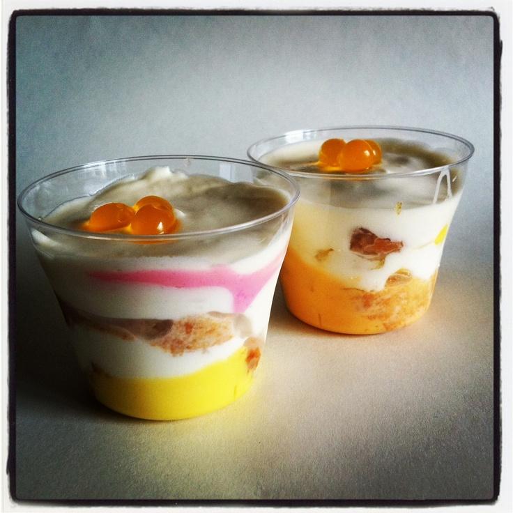 Lychee & passionfruit tiramisu