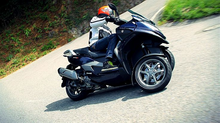 Prova:  Quadro 350S #scooter #3wheels