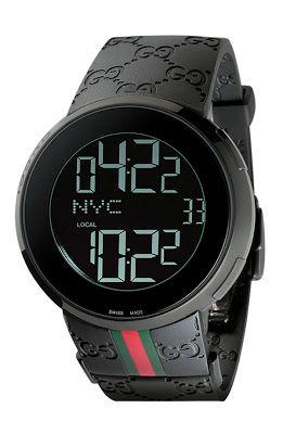 Gucci Digital Watch