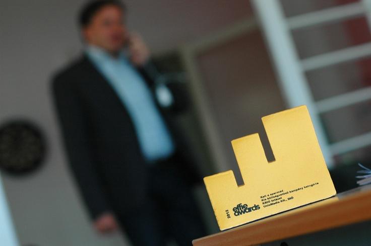 Robi és az Arany EFFIE díj