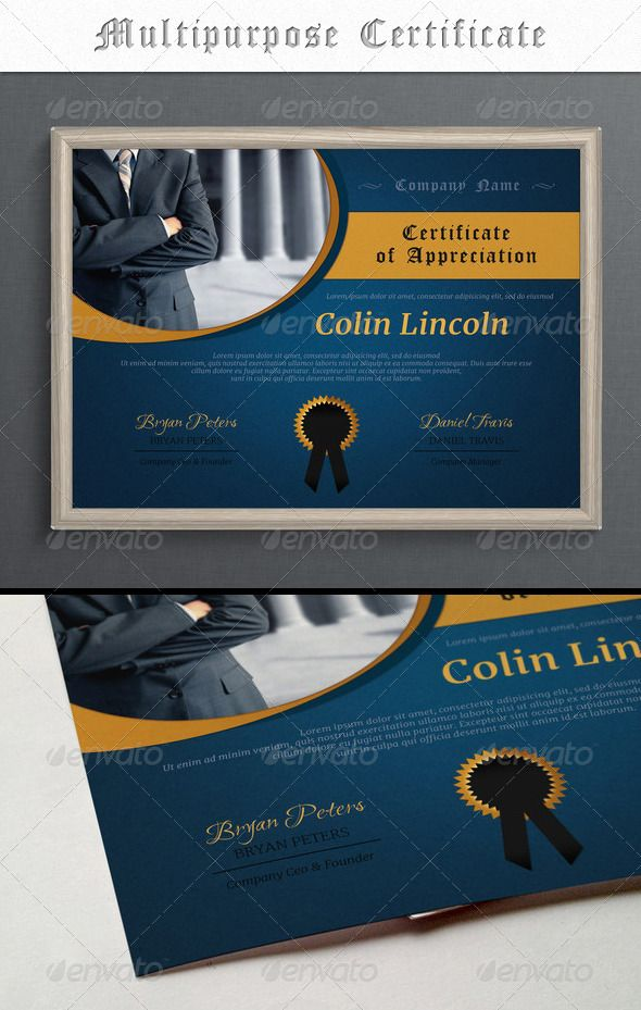 156 best Certificate Template Design images on Pinterest - business certificate templates