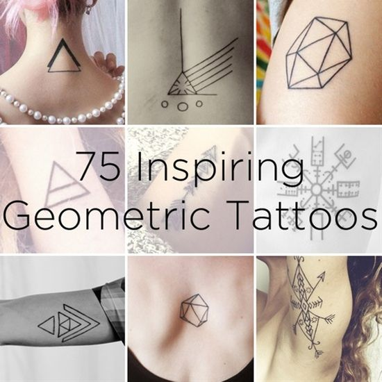 75 Graphically Gorgeous Geometric Tattoos � BuzzFe