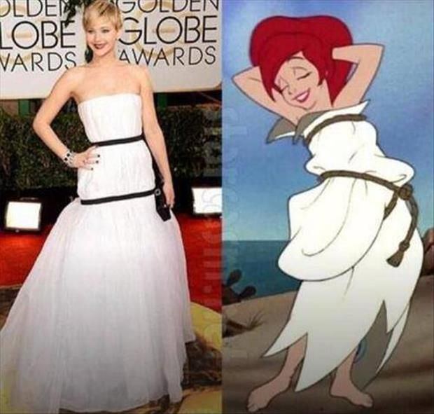 J Lawrence is a Disney princess.. Just another example of the obvious