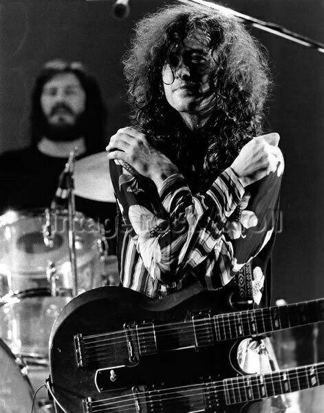 John Bonham & Jimmy Page