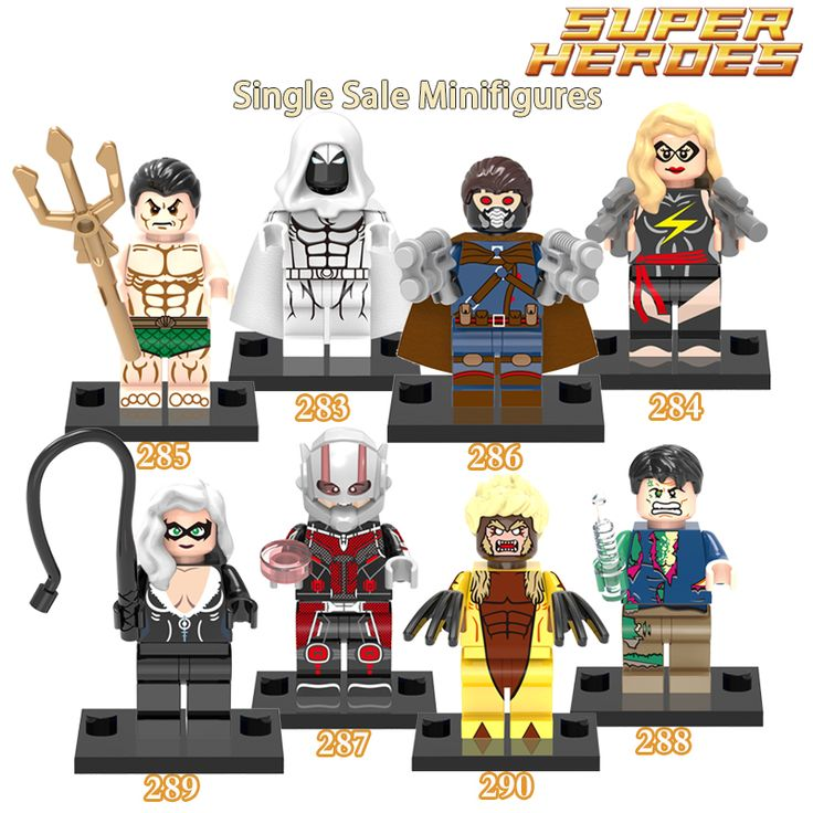 1PC New Minifigures Marvel Super Heroes Sabretooth Star-Lord Ant-Man Moon Knight Hulk Black Cat Building Blocks Kids Toys XMAS #>=#>=#>=#>=#> Click on the pin to check out discount price, color, size, shipping, etc. Save and like it!