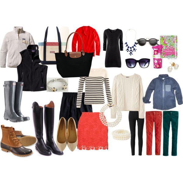 """Preppy Fall Essentials"" by gracebrimacombe on Polyvore"