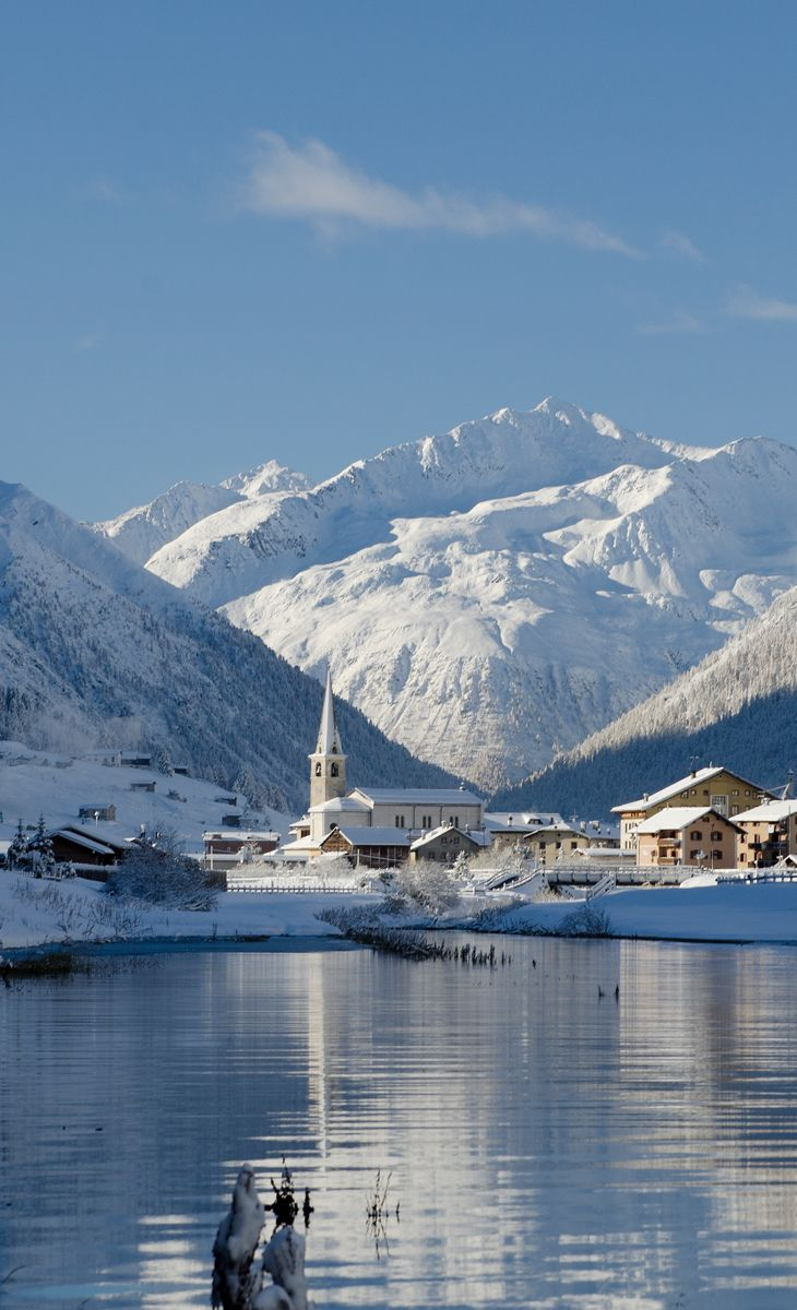 Livigno is a town and comune in the province of Sondrio, in the region of Lombardy, Italy, located in the Italian Alps, near the Swiss border.