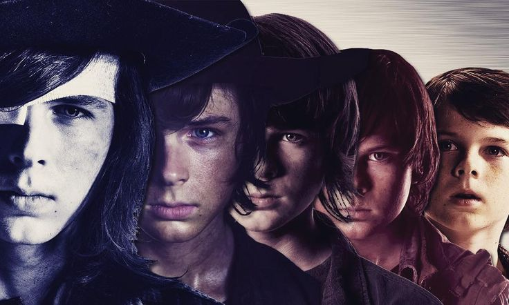 Carl Grimes through the seasons