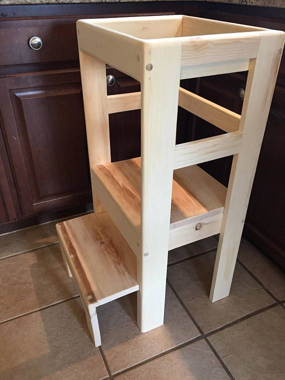 This Is A Childs Kitchen Stool For Kids Around Ages 2 4 The Stool