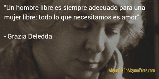 El 15 de agosto de 1936 #TalDíaComoHoy falleció la escritora italiana Grazia Deledda, cuyas novelas vinculadas a las tradiciones rurales y arcaicas de Cerdeña le hicieron acreedora al Premio Nobel de Literatura en 1926.