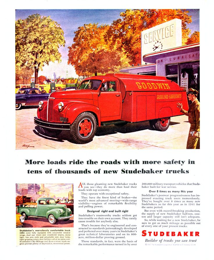 99 Best Images About Studebaker Trucks On Pinterest