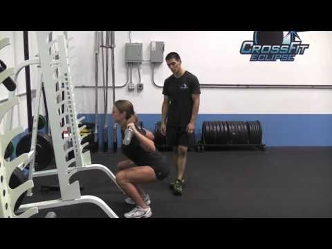 ▶ Crossfit Eclipse - Back Squat - YouTube