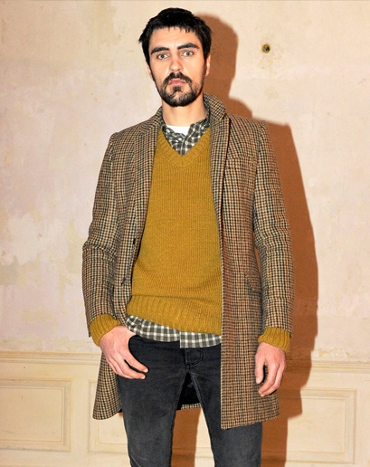 checks + mustardColours Knits, Sweaters Check, Check Shirts, Men Style, Fashion Man, Men Fashion, Knits Sweaters, 12 Menswear, Menswear Image