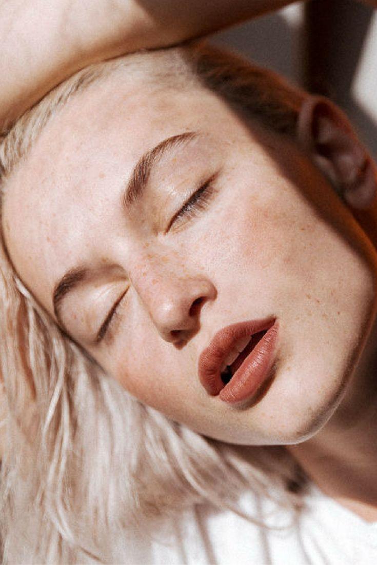 Valentina Cytrynowicz wears Generation G sheer matte lipstick in Leo