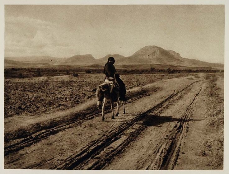 1928 photogravure of a view of the Greek landscape on the way to Corinth, Greece (on Ebay)