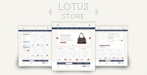 Lotus Store Magento Theme