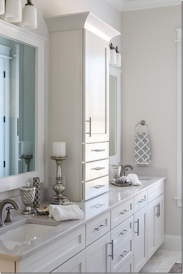 25 best ideas about double sinks on pinterest double for Ideal home bathroom ideas