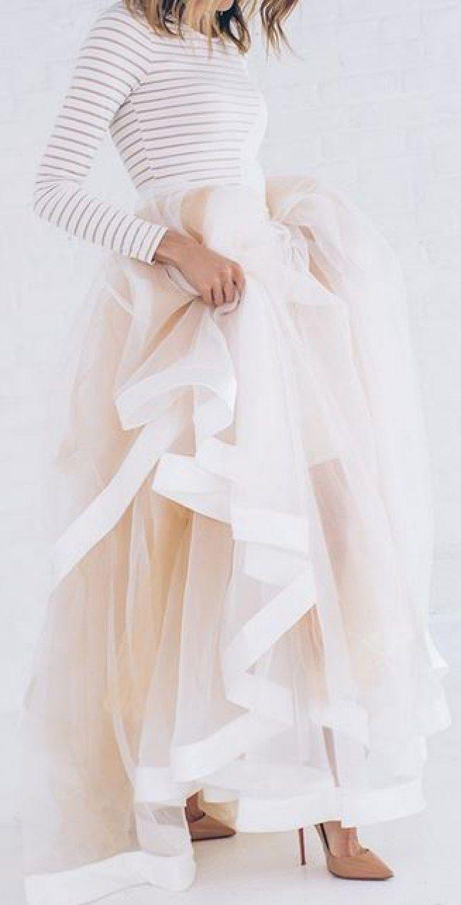 Ces robes en tulle repérées sur Pinterest nous font rêver